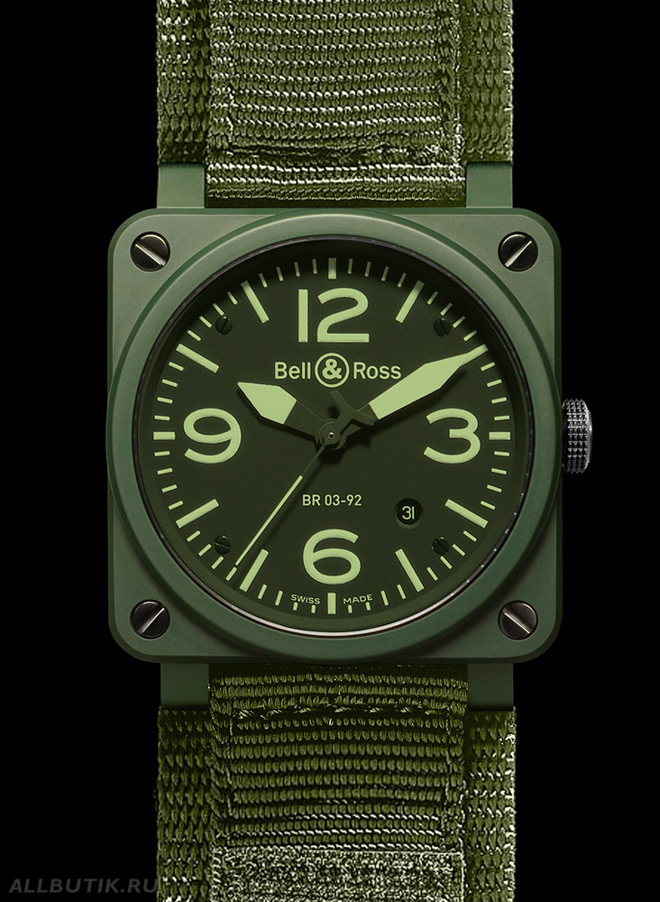 Bell & Ross Instrument BR 03-92 Military Ceramic