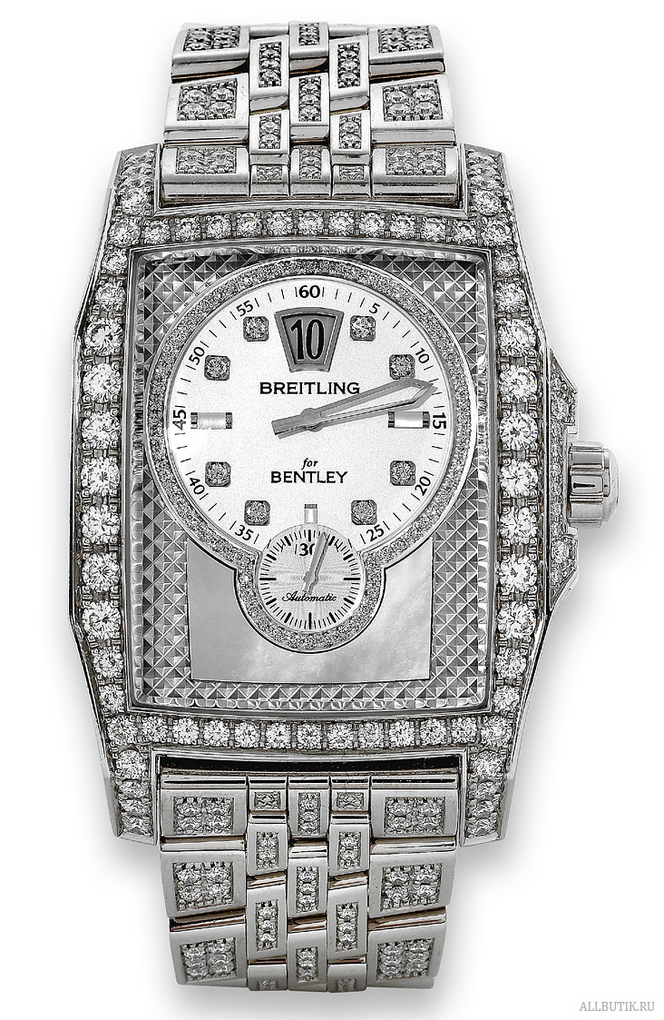 White Gold and Diamond Flying B, Limited Edition Breitling