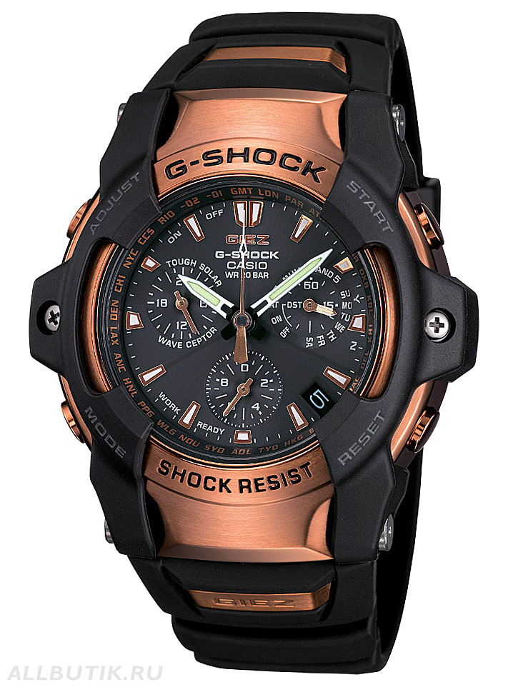 часы Casio Rose Gold G-Shock Series GS1100