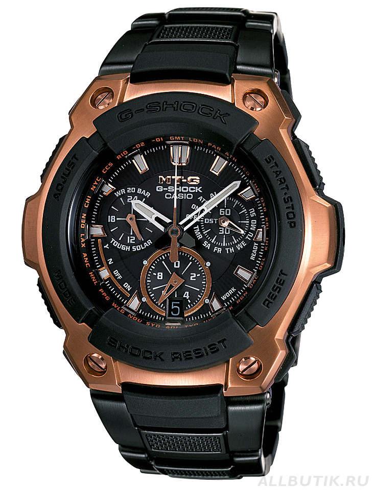 часы Casio Rose Gold G-Shock Series MTG1000