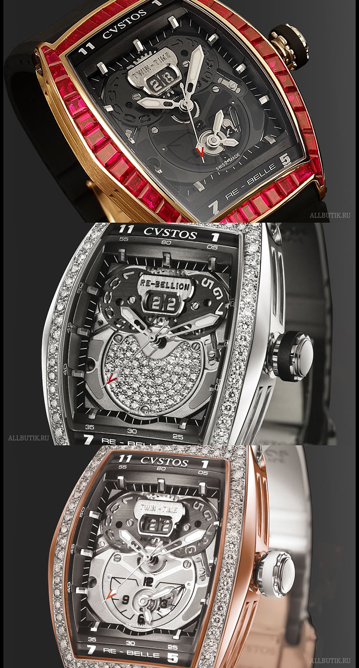 Cvstos Re-Belle Twin-Time Joaillerie / Re-Bellion
