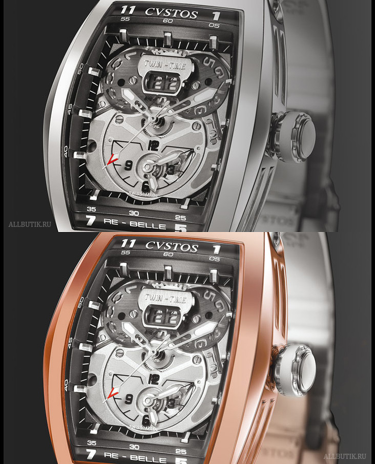 Cvstos Re-Belle Twin-Time