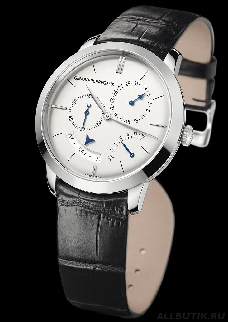 часы Girard-Perregaux 1966 Annual calendar and equation of time