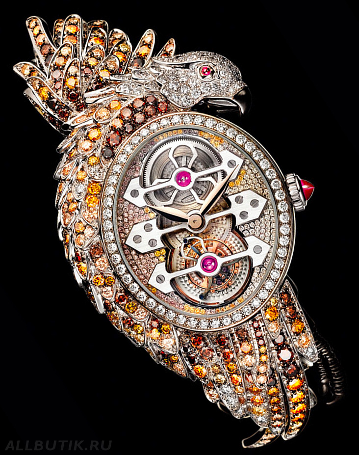 Girard-Perregaux Ladyhawke Tourbillon High Jewellery ювелирные часы