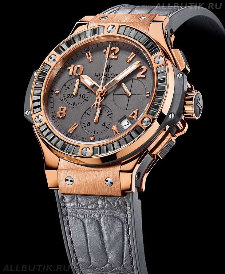 часы Hublot Big Bang Earl Gray Gold Hematite
