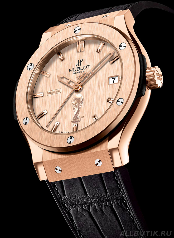 Hublot Classic Fusion Gold FIFA World Cup