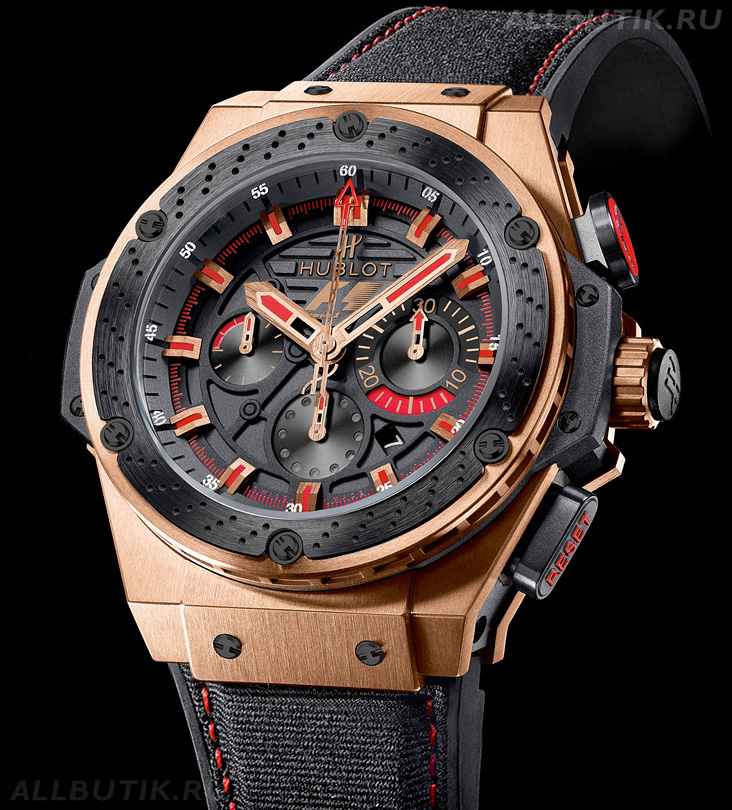 часы Hublot F1 King Power gold