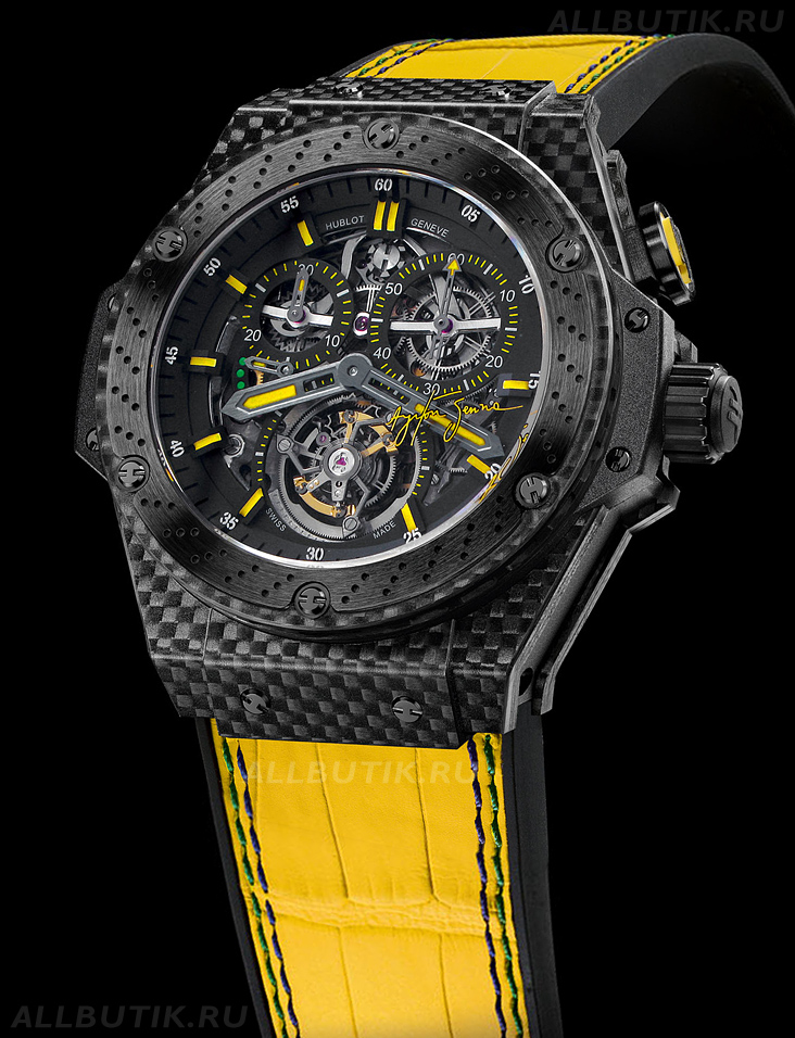 часы Hublot King Power Tourbillon Ayrton Senna