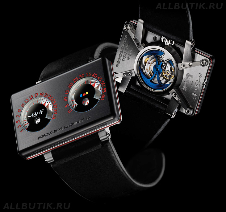 часы MB&F Alain Silberstein Horological Machine N°2.2