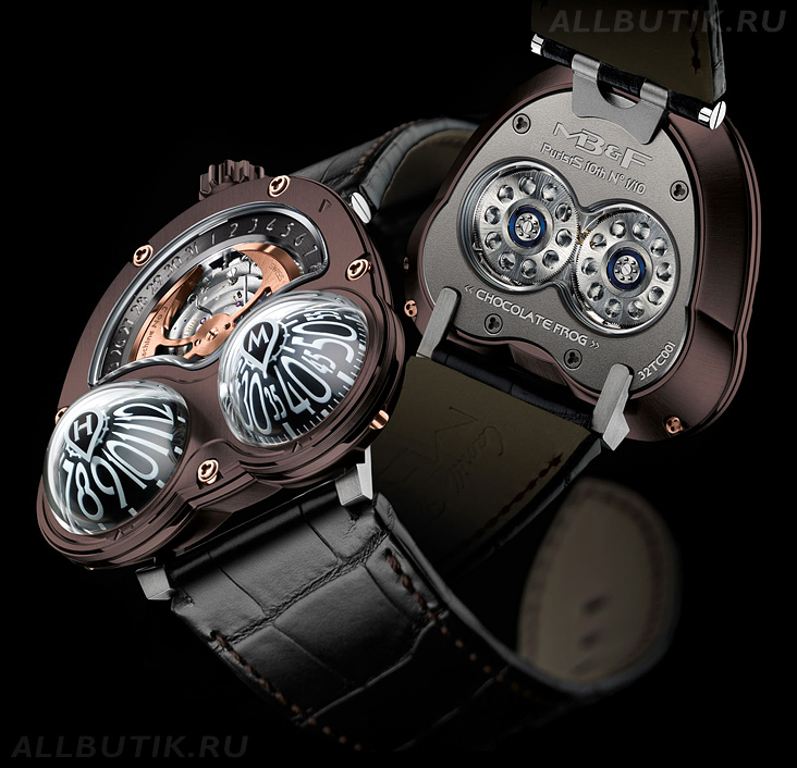 часы MB&F HM3 Chocolate Frog