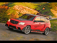 2008 Mercedes-Benz GLK Pikes Peak Rally Racer by RENNtech