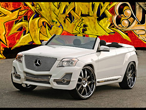 2008 Mercedes-Benz GLK Urban Whip by Boulevard Customs
