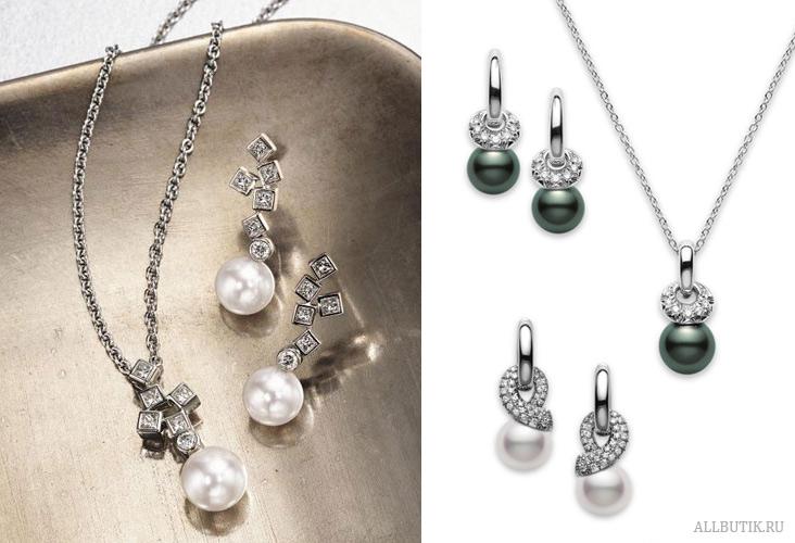MIKIMOTO - ювелирные украшения и жемчуг Микимото 88812514992