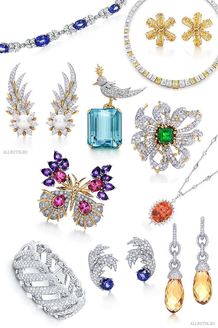 ювелирные изделия с драггоценными камнями