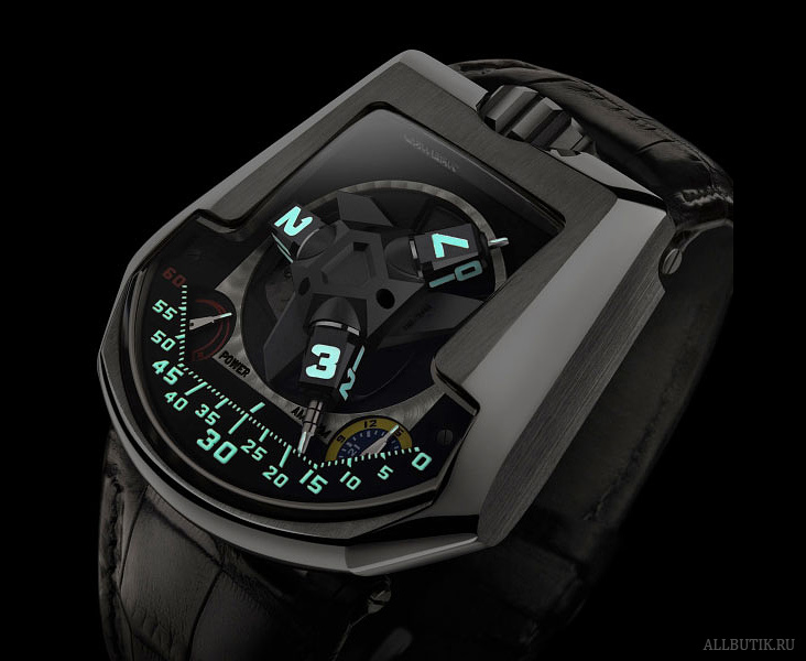 "Urwerk 2007 The UR201 ""Black shark"""