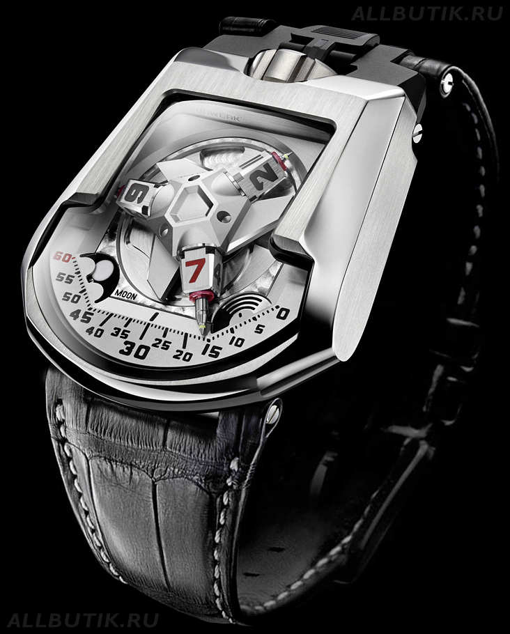 часы Urwerk UR-202 White Shark